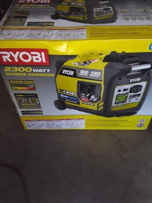 Ryobi quiet generator new in box for Sale in Cleveland, OH