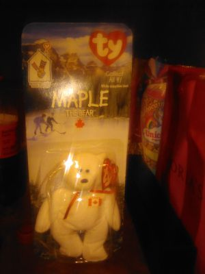 Ty maple bear beanie baby limited edition for Sale in Channelview, TX