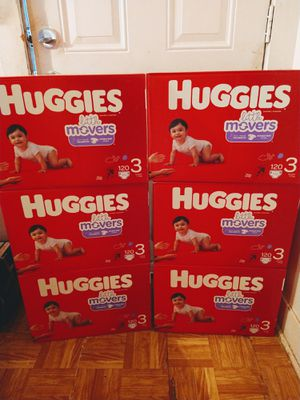 Boxes huggies #3 for Sale in Houston, TX
