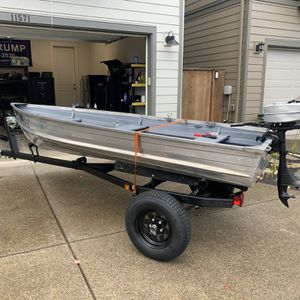 1962 12' Aluminum Boat for Sale in Wilsonville, OR