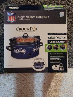 Seahawk Crock Pot for Sale in East Wenatchee,  WA