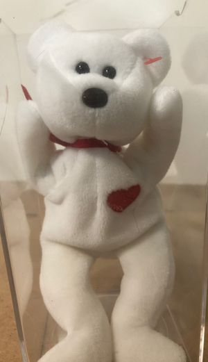 Ty Valentino beanie babie rare mint for Sale in Wildomar, CA