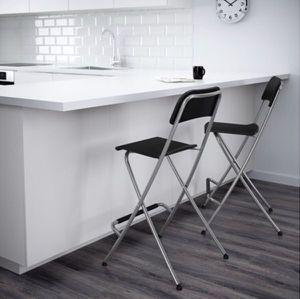 IKEA Foldable Bar or Counter Stools for Sale in Arlington, VA