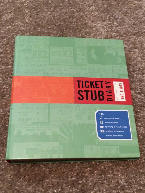Ticket Stub Album (Save all your event memories)