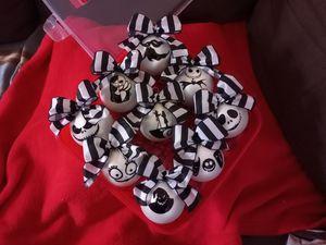 nightmare before christmas ornament set for Sale in Norwalk, CA