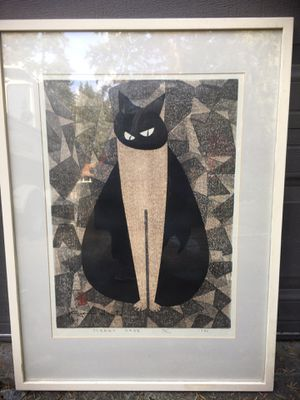 Framed print 'Steady Gaze' by Kiyoshi Saigon for Sale in Seattle, WA