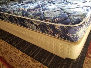 Twin Mattress set box spring bed frame for Sale in Lynnwood, WA
