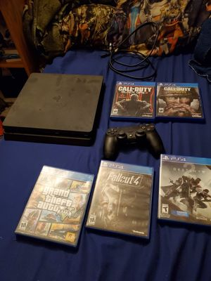 Ps4 with games for Sale in Lacey, WA