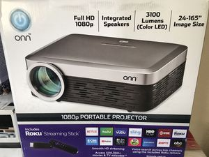 1080p PORTABLE PROYECTOR for Sale in Houston, TX