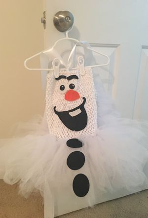 Olaf outfit- Tutu for Sale in Canton, MI