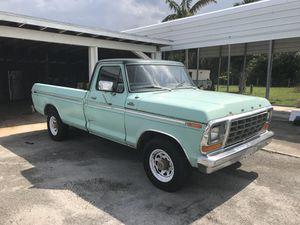 1979 Ford F250 Ranger XLT for Sale in Boynton Beach, FL