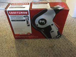 Never used Craftsman Auto-Hammer Hammerhead NEXTEX 911818 Cordless System for Sale in Davidsonville, MD