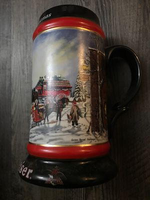 Budweiser A perfect Christmas Stein for Sale in Dallas, TX