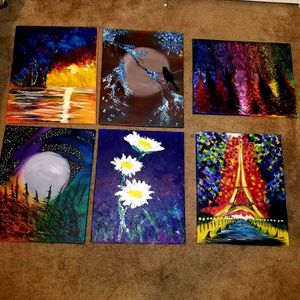 Acrylics paintings for Sale in Visalia, CA