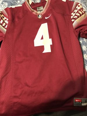 OFFICIAL NIKE FSU JERSEY large size for Sale in Tampa, FL