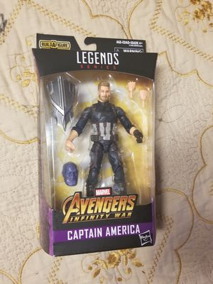 Captain America Marvel Legends Thanos BAF for Sale in Fresno, CA