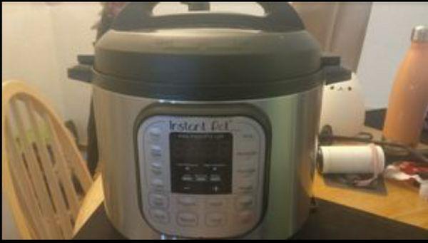 Instant pot 6 Quart