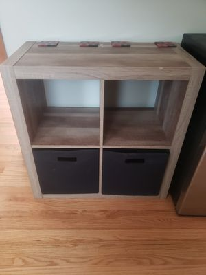 4 cube shelf organizer $50 for Sale in Chicago, IL