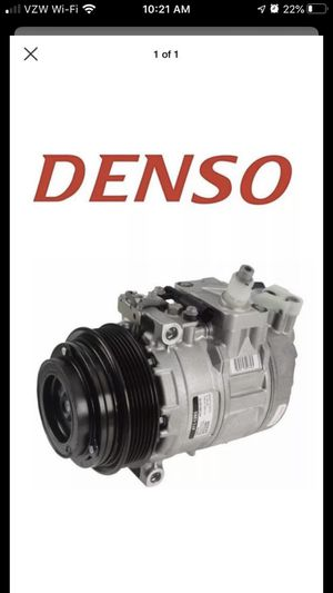 NEW - Denso A/C Compressor w/ Pump - Mercedes for Sale in Tacoma, WA