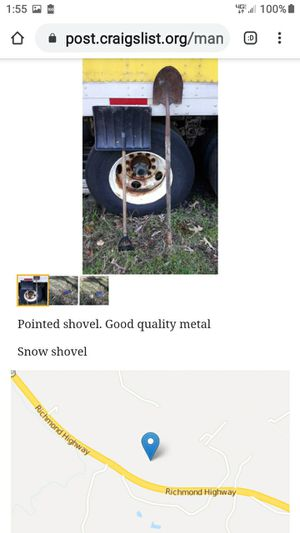 PAIR OF SHOVELS for Sale in Lynchburg, VA