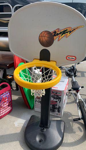 Blue titan basketball hoop for Sale in Richmond, VA