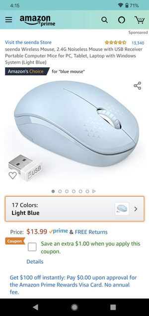 USB wireless mouse for Sale in South Gate, CA
