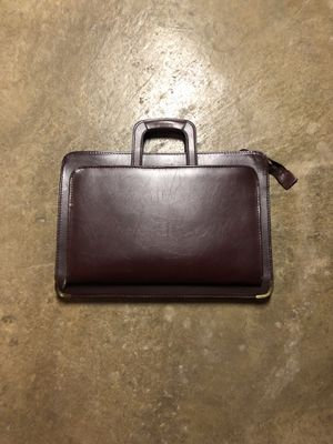 Authentic Leather Brief Case for Sale in Burnt Chimney, VA