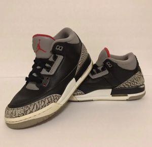 Nike Air Jordan 3 Retro Black Cement 7Y for Sale in Columbia, SC