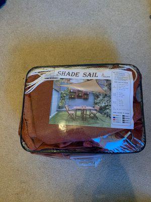 Triangle sun shade for Sale in Wenatchee, WA