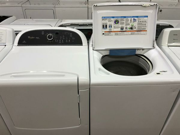 Whirlpool Cabrio Platinum Washer and Dryer Electric