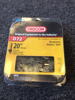Oregon 20' chainsaw replacement for Sale in Orlando, FL