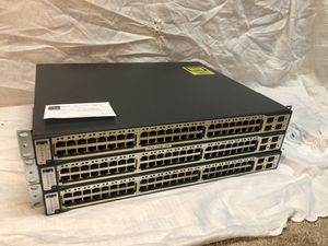Cisco 3750 48-port PoE Layer 3 Switch for Sale in Colorado Springs, CO