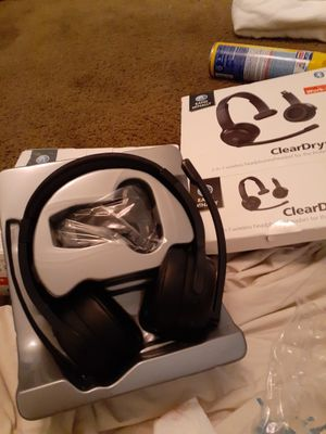 Clear dry headphones for Sale in San Antonio, TX