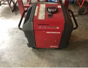 Honda eu3000is generator with hauling cage for Sale in Lexington, KY