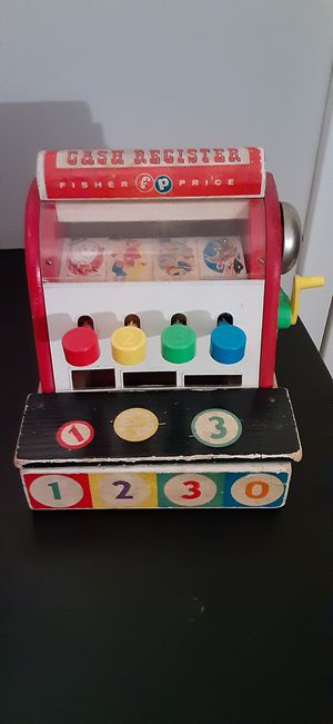 Vintage Toy Fisher Price Cash Register for Sale in Clinton, MD