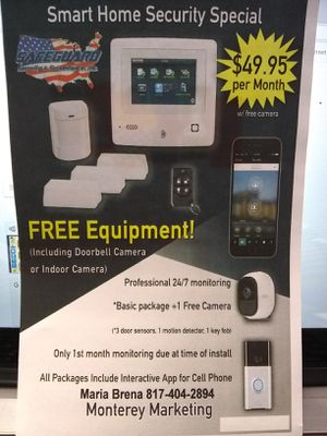 Safeguard Smart Home Security for Sale in Fort Worth, TX