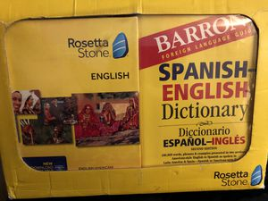 Rosetta Stone English for Sale in Anaheim, CA