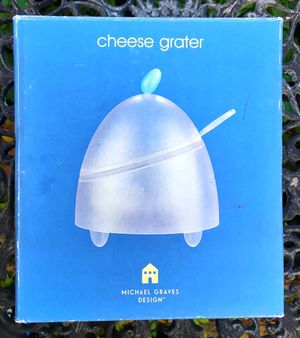 Michal graves post modern designer cheese grater in original box for Sale in Saginaw, MI