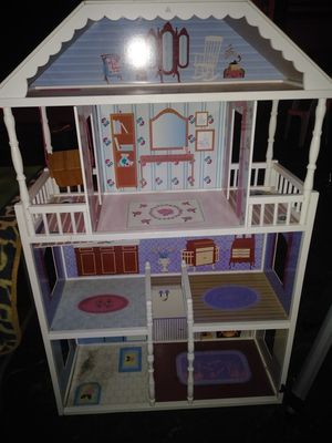 Wodden doll house for Sale in Moline, IL