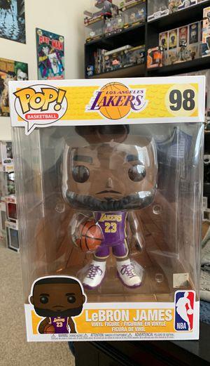 Funko pop Lebron James 10 in for Sale in San Antonio, TX