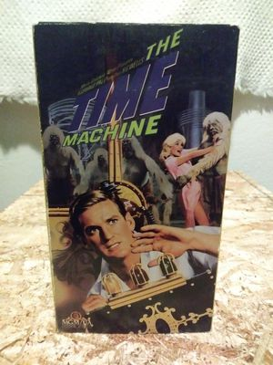 THE TIME MACHINE RARE VHS MGM 1960 MUTANT SCI-FI TRAVEL ROD TAYLOR HTF for Sale in Commerce, CA