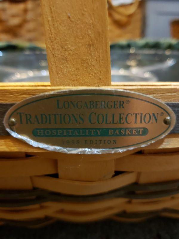 Longaberger hospitality basket family traditions