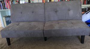 Mainstays tufted gray futon for Sale in Rialto, CA