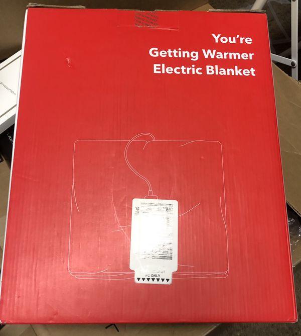 Getting warmer Electric Blanket