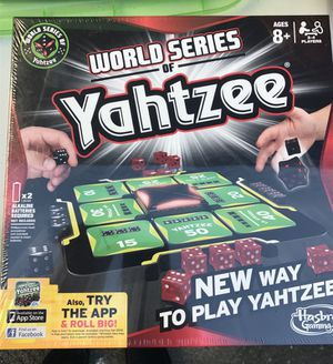 World Series Yahtzee for Sale in Springfield, MA