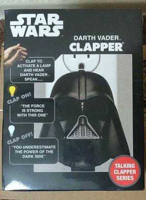 Star Wars DARTH VADER CLAPPER: Talking Clapper Series! (1 Outlet) for Sale in Fairfax, VA