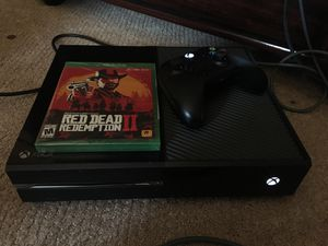 Selling an Xbox One and Red Dead Redemption 2 for Sale in Grapevine, TX