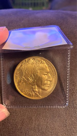 2006 Gold 1 oz 24k Buffalo $50 gold piece mint condition uncirculated for Sale in Billings, MT