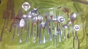 27 Peice Stainless Steal Serving Utensils for Sale in Boston, MA