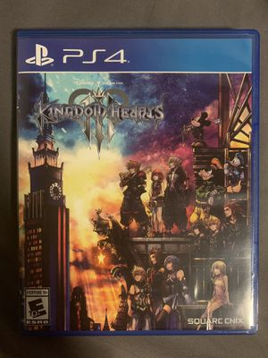 Kingdom Hearts 3 (PS4) for Sale in Mahwah, NJ